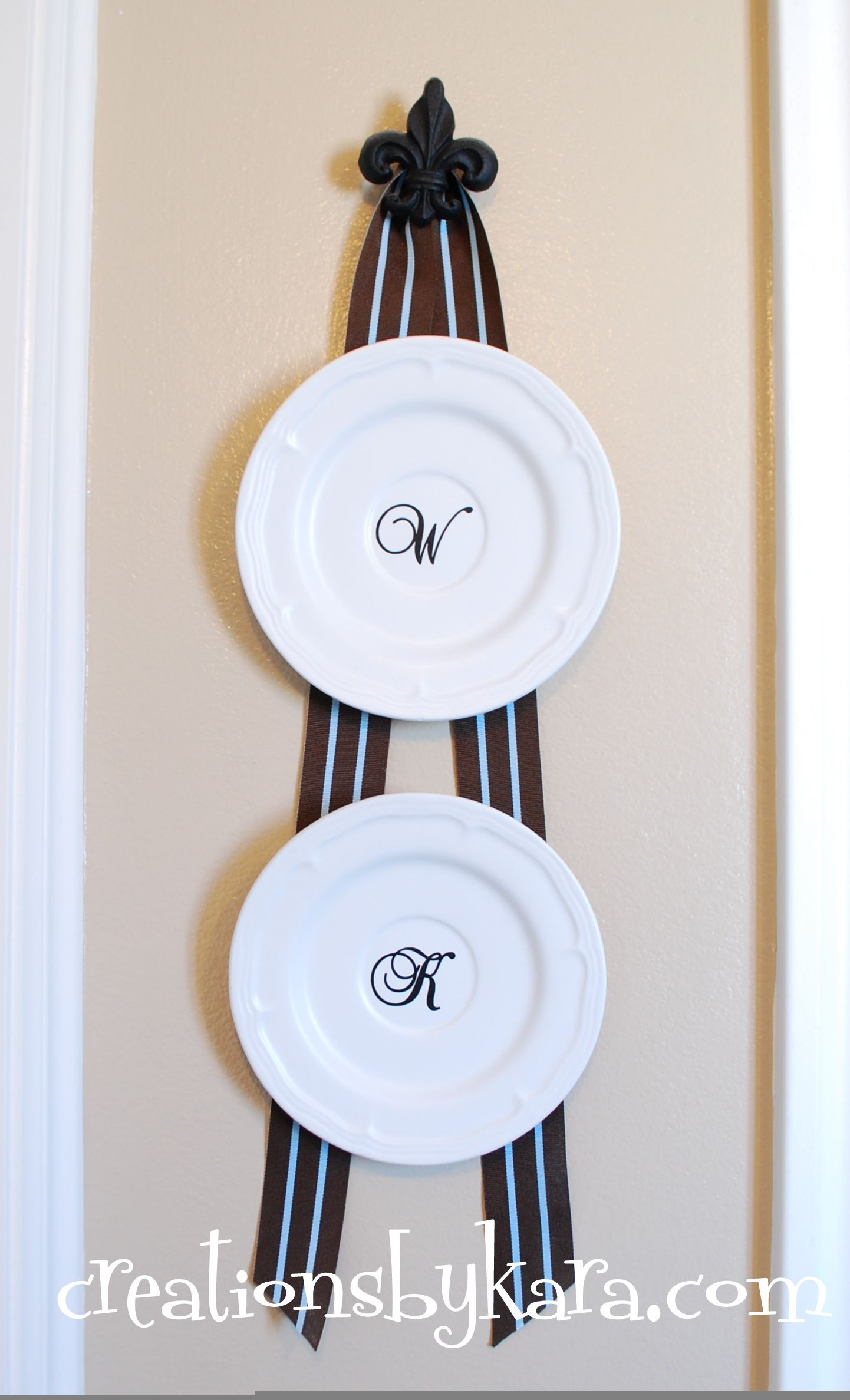 Wall Hangers For Plates Glamorous How To Hang Plates On The Wall Without Buying Plate Hangersa Quick Decorating Inspiration