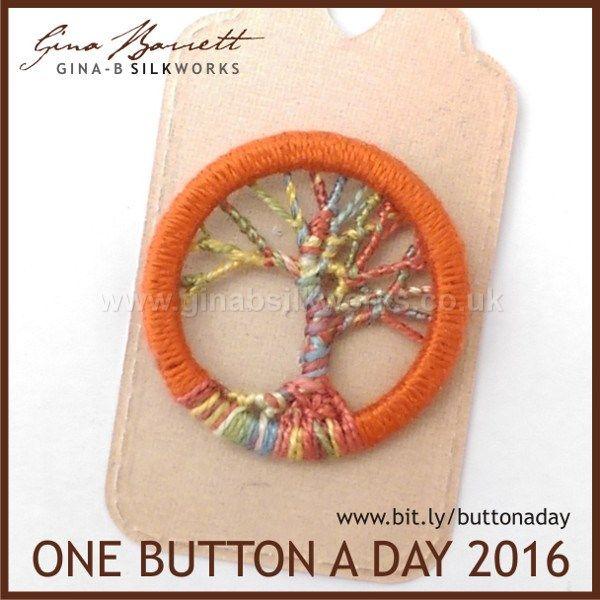 Day 120: Tree of Life #onebuttonaday by Gina Barrett