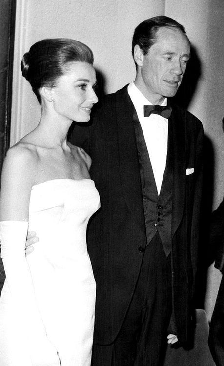 Mel and Audrey.