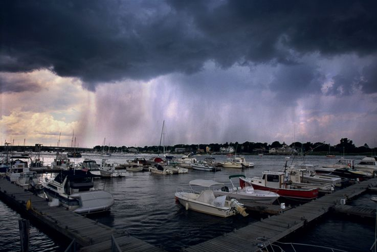 Storm.Newberry Port Mass USA.  Steve Turner Photography  c