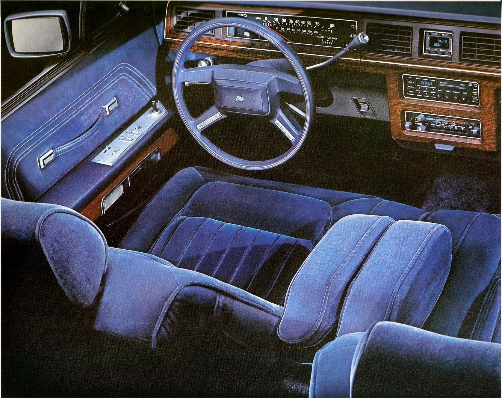 88 Ford Ltd Crown Victoria Interior When America Needs A Better 1980 Taxi