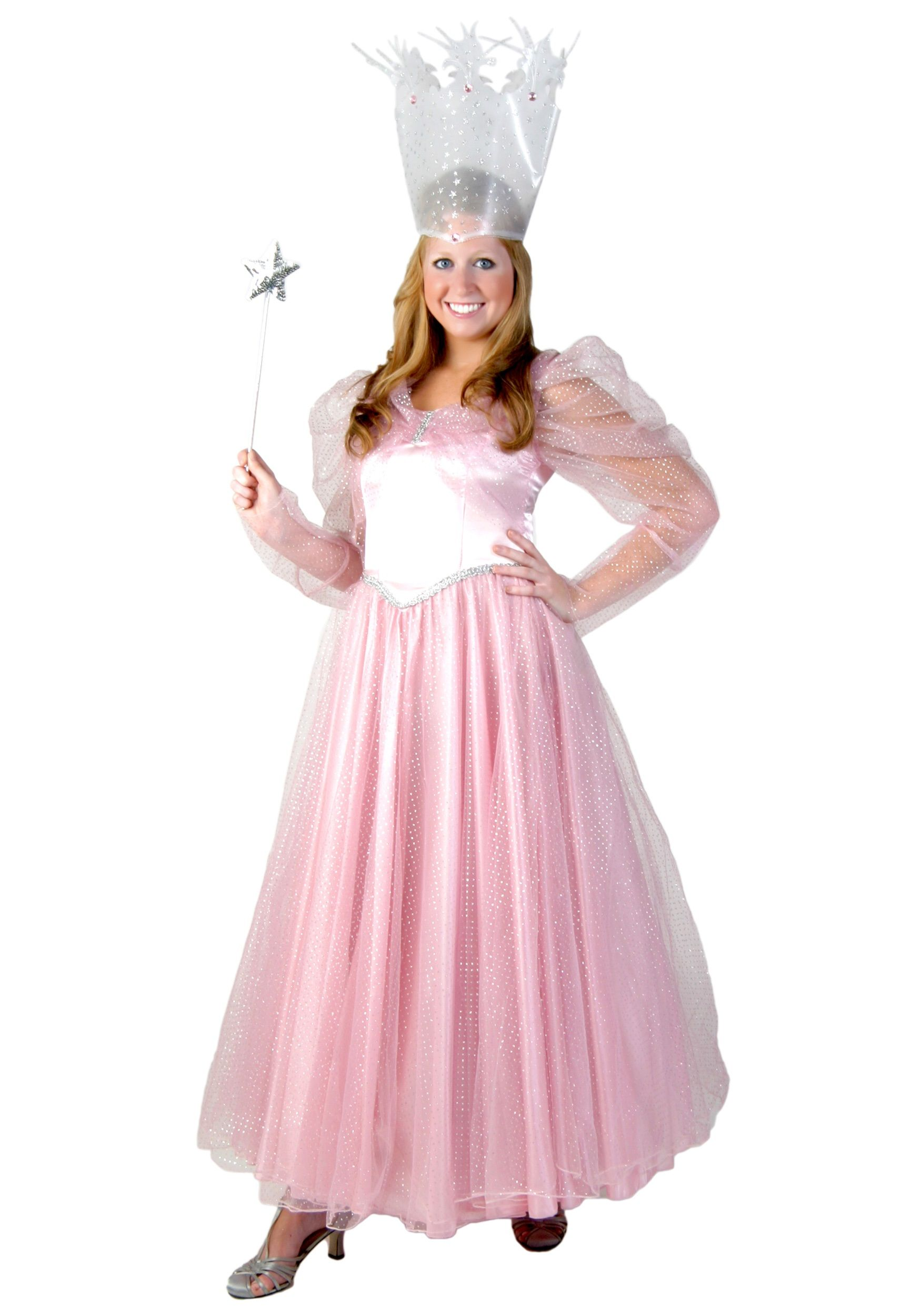 Deluxe Plus Size Pink Witch Costume Costumes for women