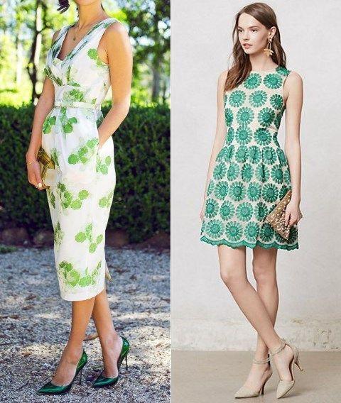 21 Ideas de Vestidos para Invitadas a una Boda - Primavera | Spring ...