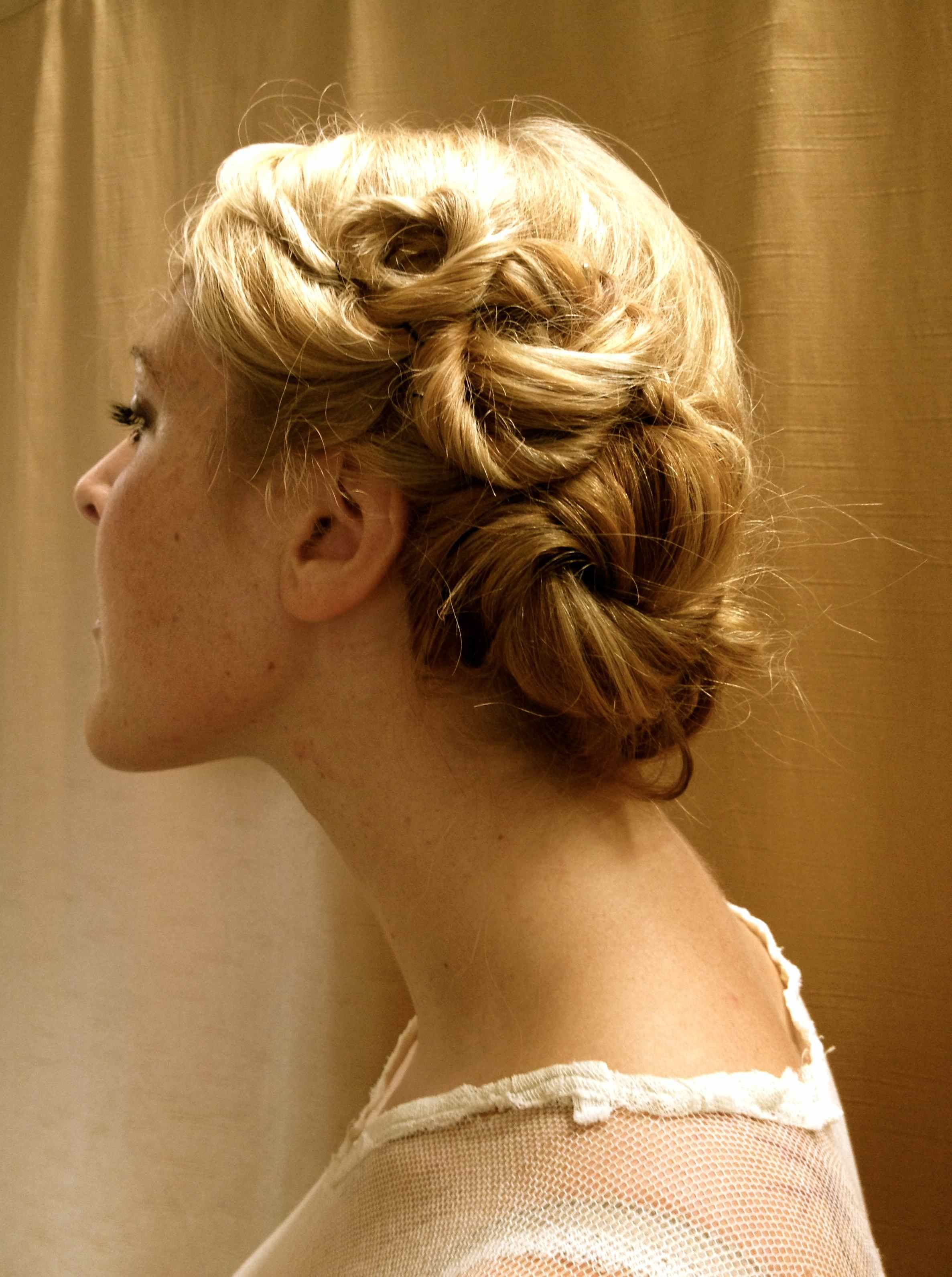 DIY 1920 s inspired hairstyles styled by Mel Arens Mayapple
