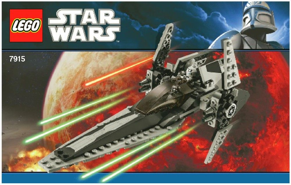 Star Wars Imperial V Wing Starfighter Lego 7915 Lego Sets Of