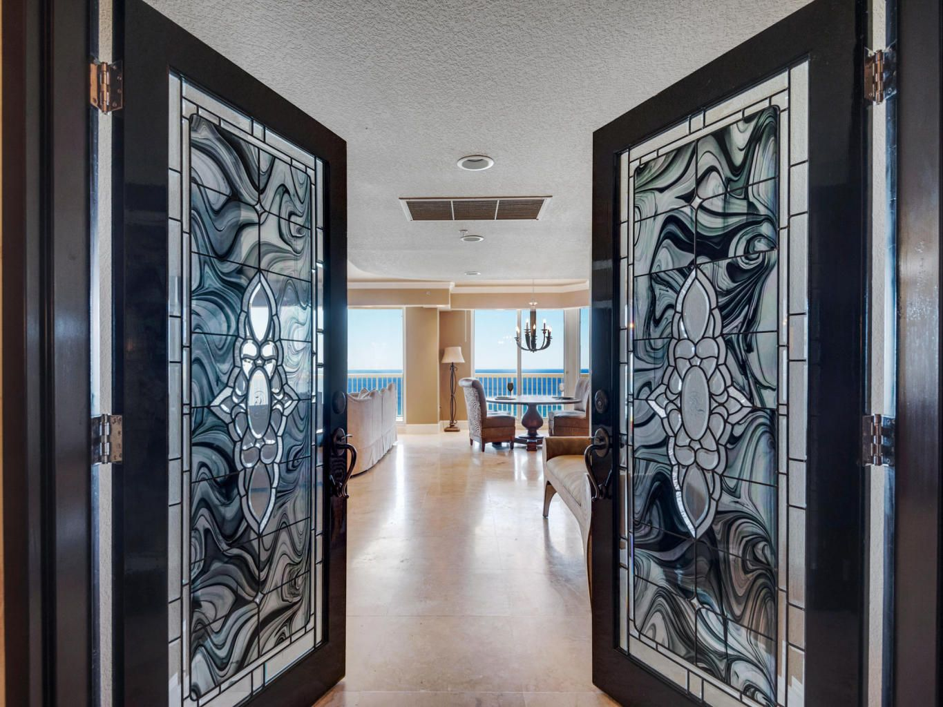 Front Doors. Gulf Front Condo in Destin. St