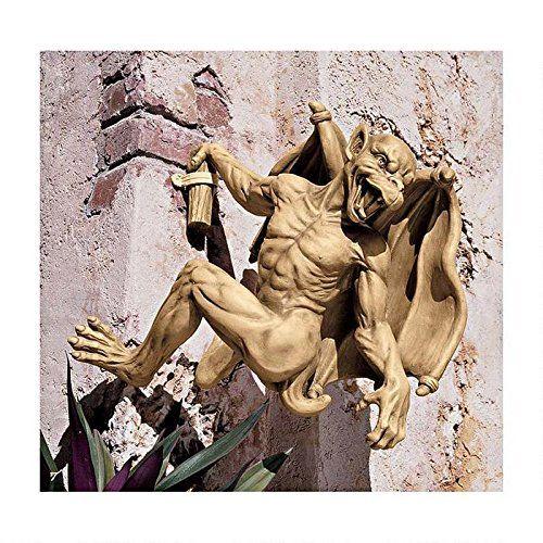 Design Toscano by Blagdon - Gaston, the Gothic Gargoyle Climber Sculpture - Large Interpet http://www.amazon.co.uk/dp/B001R6DX78/ref=cm_sw_r_pi_dp_2esRvb0ANP16Y