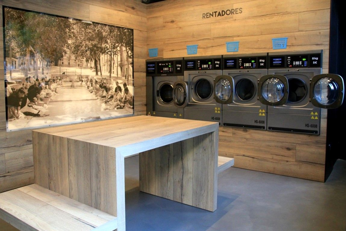 El Safareig del Barri is a self service laundry Barcelona