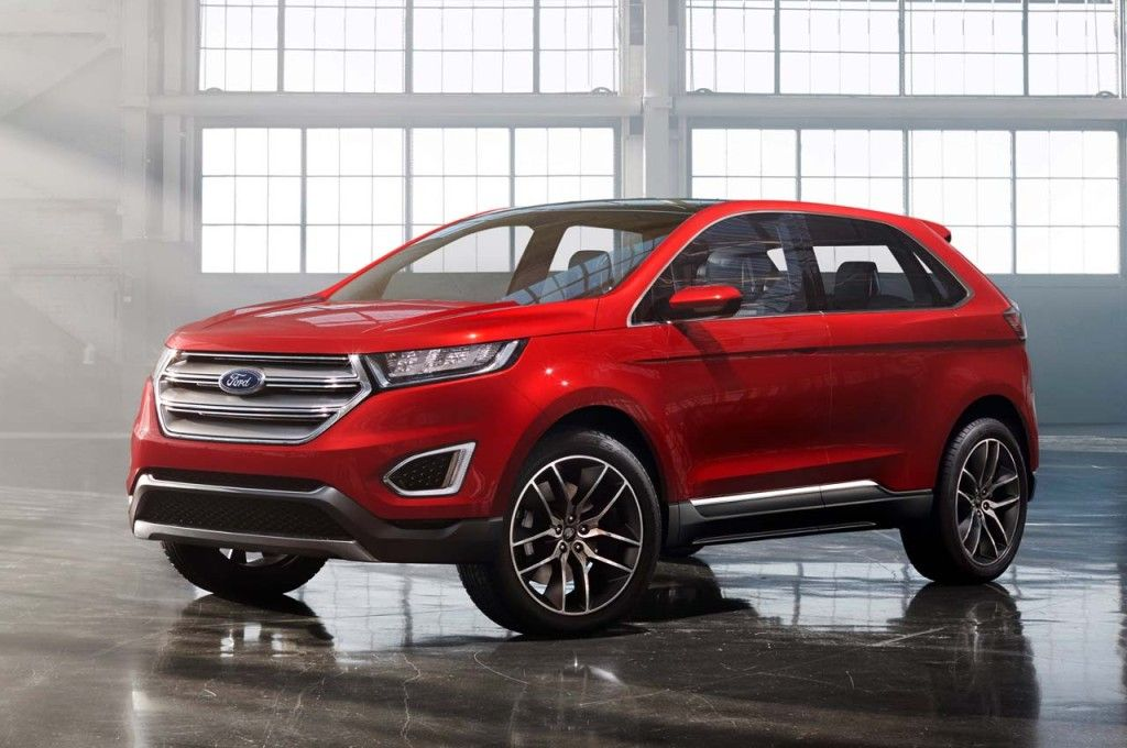 2016 ford edge crossover suv redesign in the ford's suv family, the