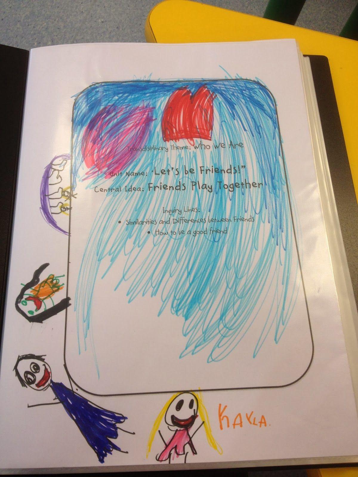 Portfolios In Kindergarten Learning Stories