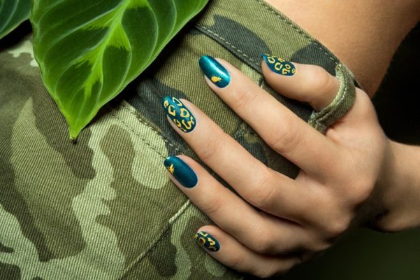 Rainforest nails