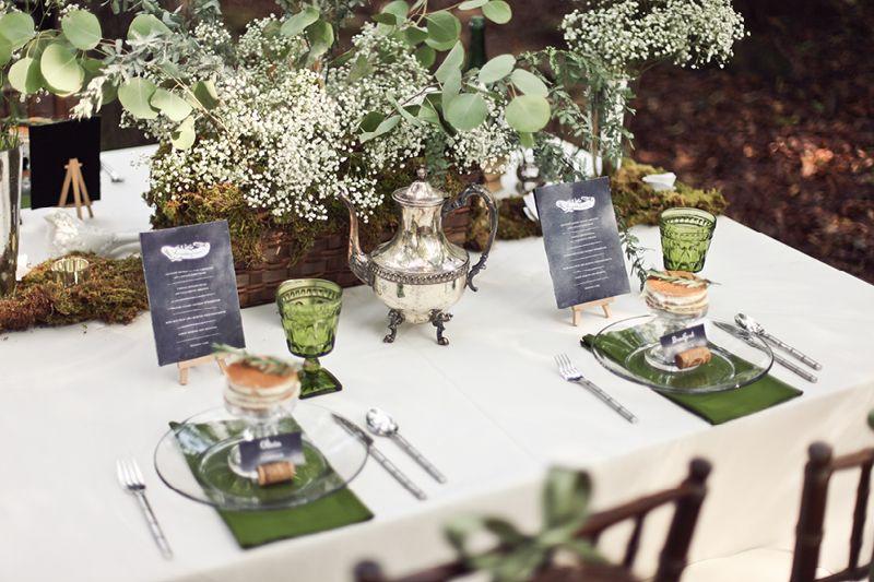Superior Rustic Vintage Tablescape Design With Babyu0027s Breath