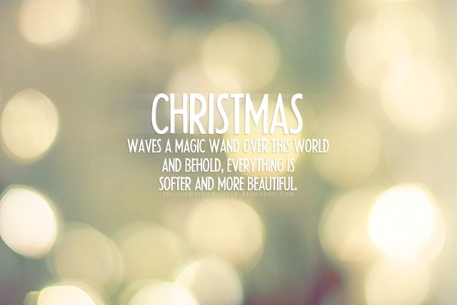 Cute Christmas Quotes | 'til Christmas morning…. » christmas-lights-quote- quotes-xmas . - Christmas-lights-quote-quotes-xmas-Favim.com-287722 Winter Magic