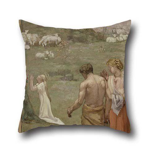 Oil Painting Pierre Puvis De Chavannes Saint Genevieve As 400 x 300