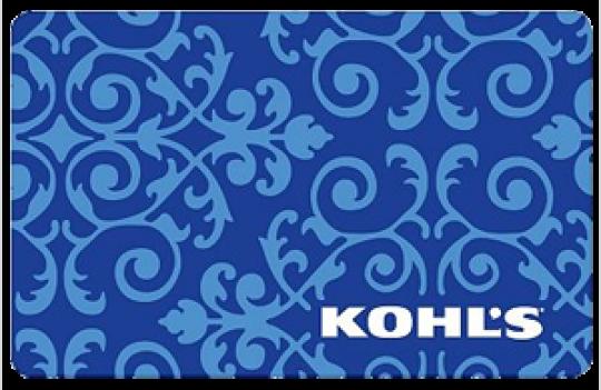Win A 100 Kohl S E Gift Card Egift Card Gift Card Giveaway Gift Card Holder