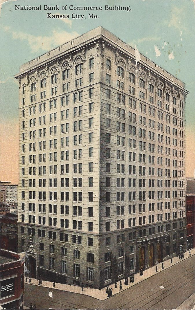 National Bank Of Commerce Building Squeezeboxcity Kansas City