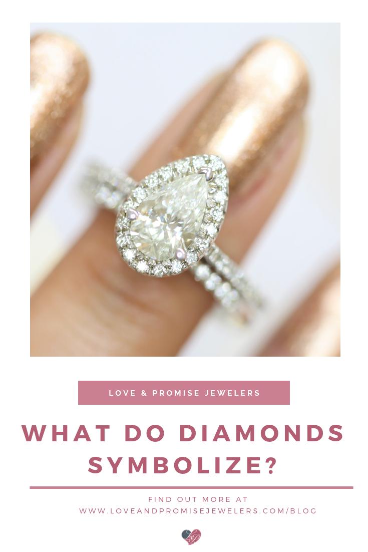 What Do Diamonds Symbolize? | Love & Promise Blog | Diamond