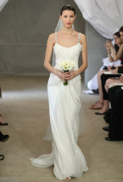 Carolina Herrera Wedding Dresses Spring 2013: Inspired by Glamorous Portraits