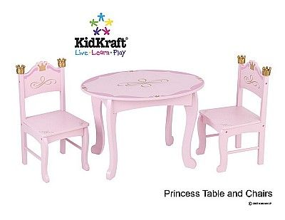 Princess Table And Chairs