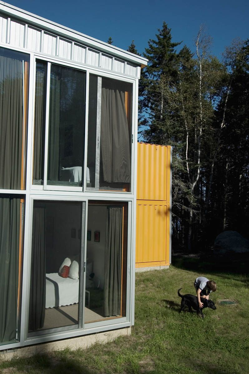 Best Kitchen Gallery: 12 Container House In Blue Hill Maine Idea Sgn By Adam Kalkin 7 of Kalkin Shipping Container Homes  on rachelxblog.com