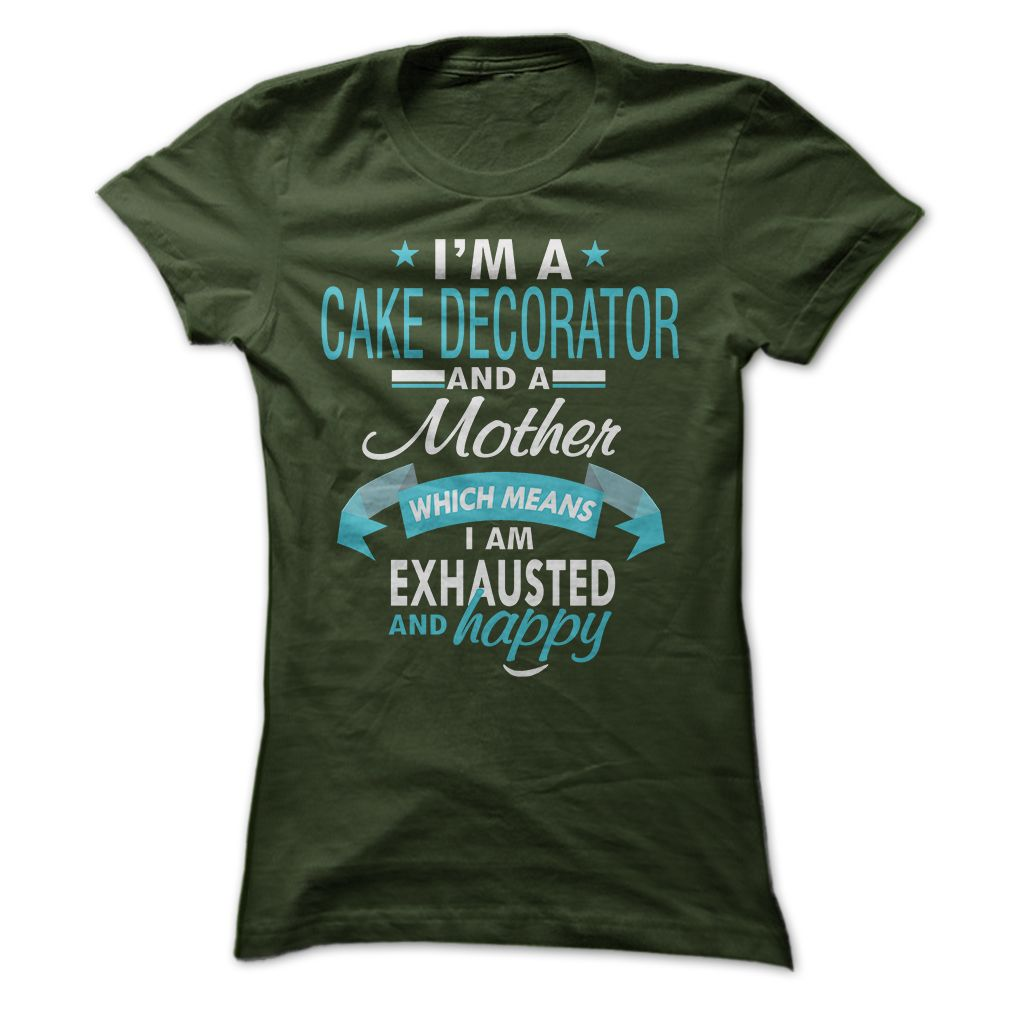Cake Decorator Mom!