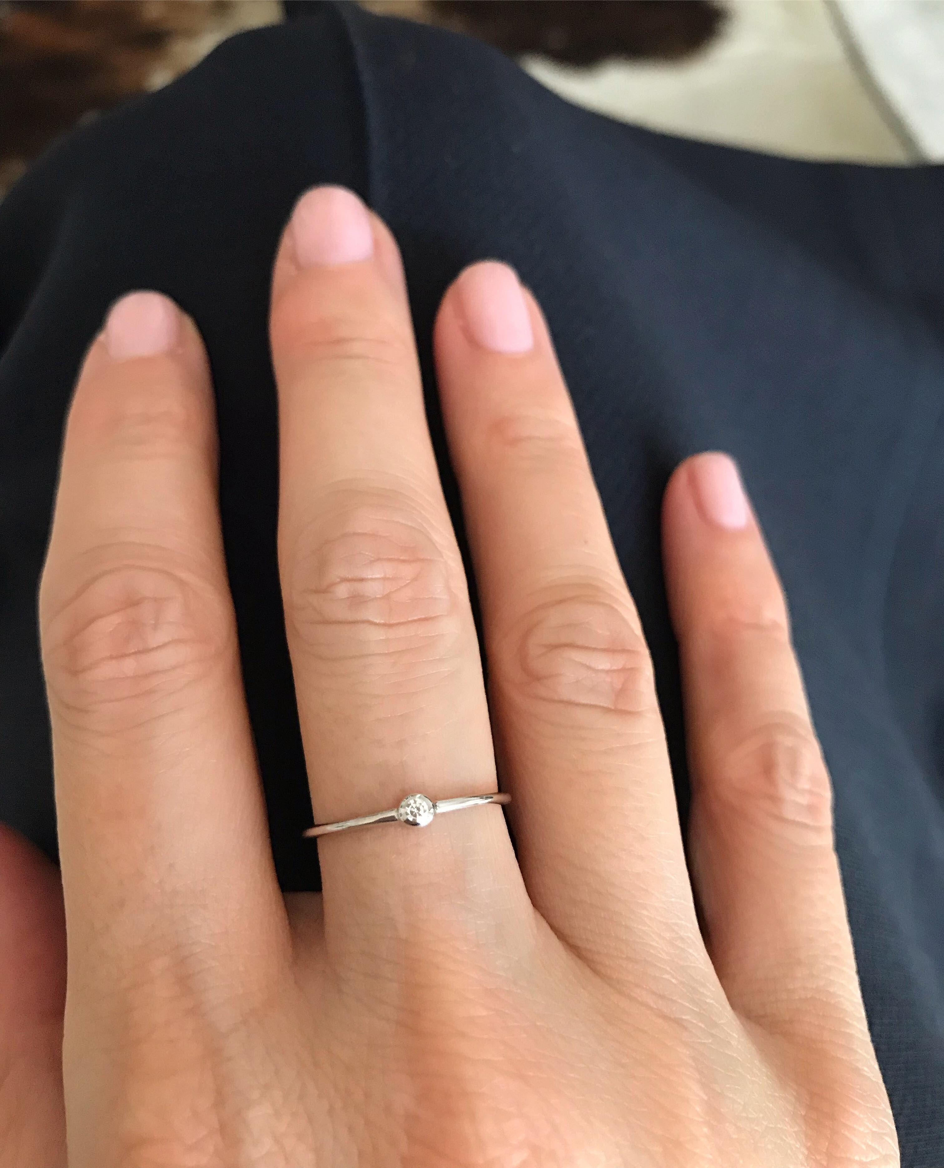 14k Or Jaune Finition Diamant Femme Bracelet Jonc 0.5 ct Cadeau St-Valentin