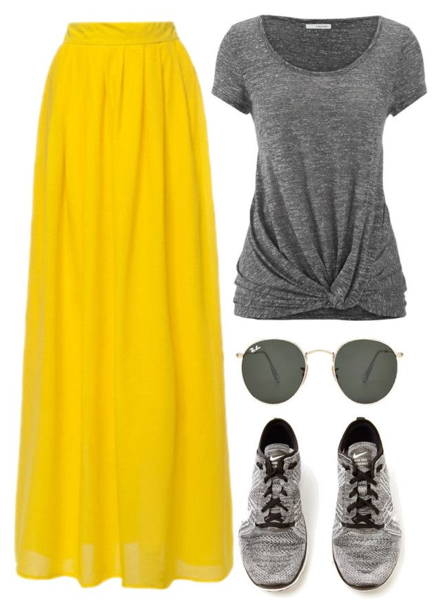 """""""Just Waiting For Summer"""" by polygirl06 ❤ liked on Polyvore featuring maurices, Ray-Ban, NIKE, women's clothing, women's fashion, women, female, woman, misses and juniors"""