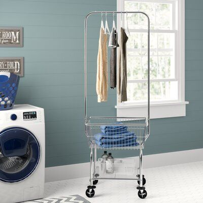 Symple Stuff Commercial Laundry Butler Free Standing Drying Rack