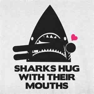 sharks hug with their mouths The sharks may have gathered to cut down on the drag caused by their open mouths, it said trending in science new mexico observatory's sudden closure sparks wild speculation.