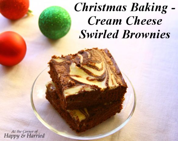 Easy Dessert – Cream Cheese Swirled Or Marbled Brownies (With images) | Easy desserts. Chocolate treats easy. Desserts