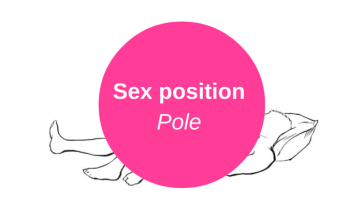 Pole sex position