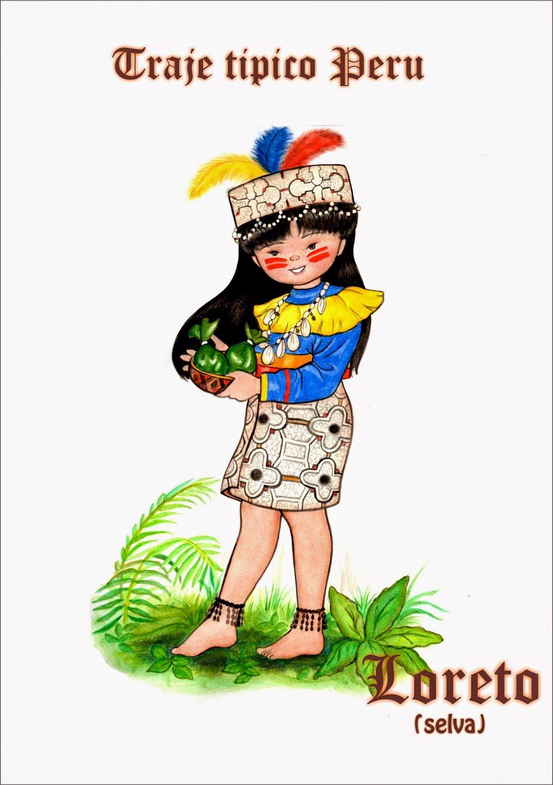 Vestimenta Tipica De La Selva Imagen Los Yaguas Abor 237