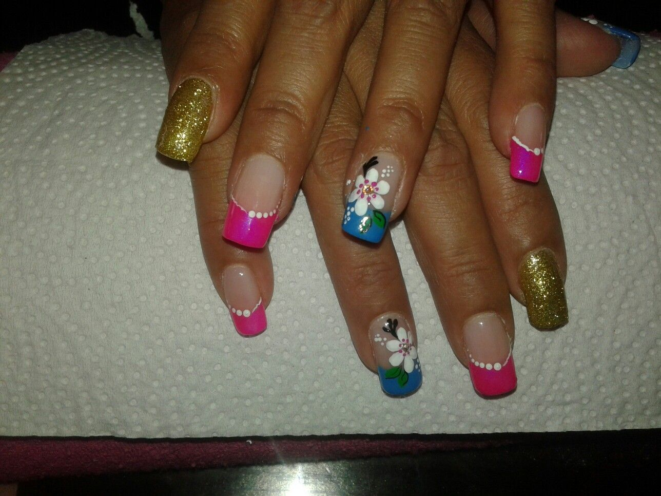Acrilicas Hermosas Beauty Nails Painting