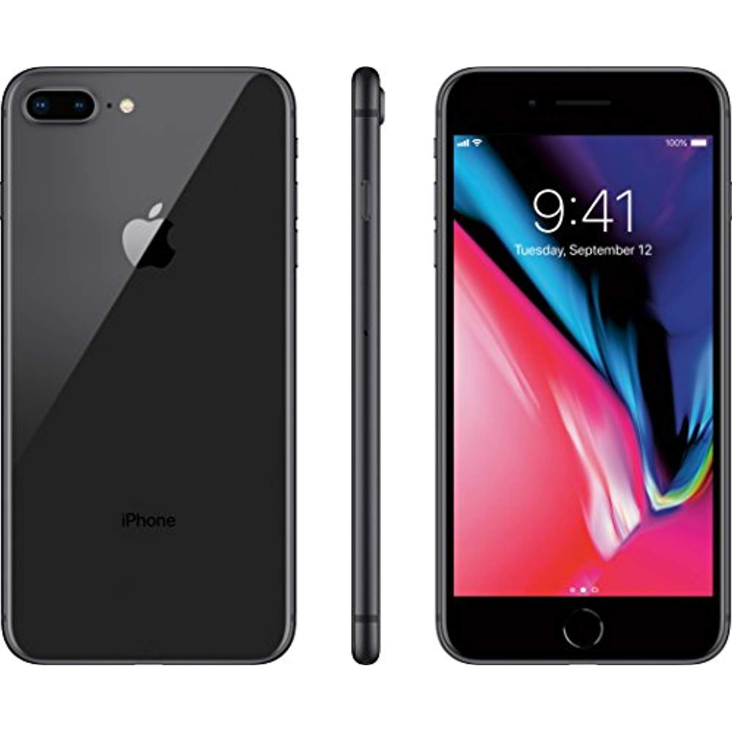 Apple Iphone 8 Plus 256gb Black Unlocked Check Out This Great Product This Is An Affiliate Link Iphone Apple Iphone Refurbished Phones