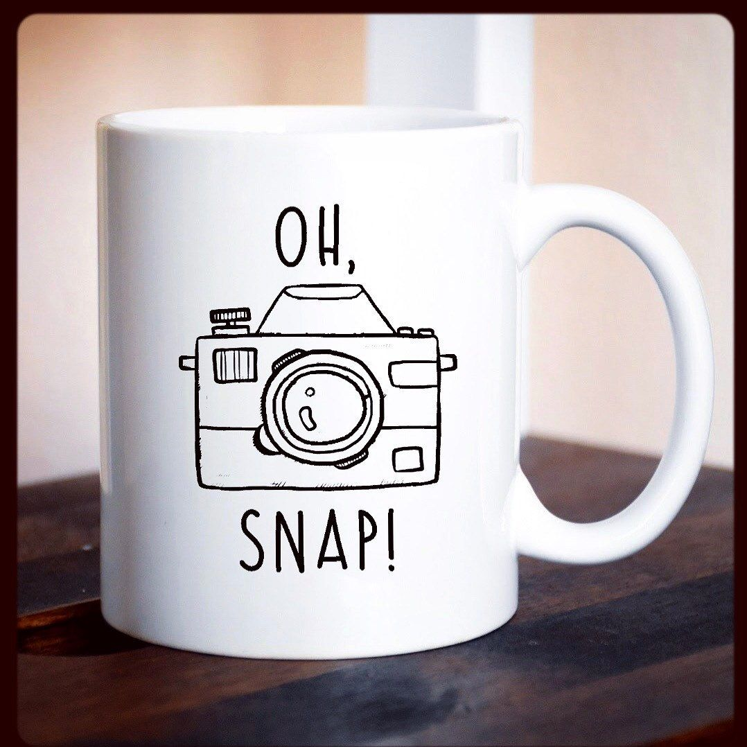 Mug Funny Photographer Gift Photography Camera For Coffee Cup