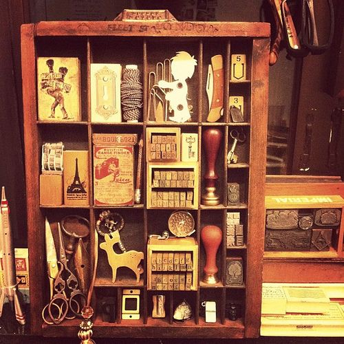 Shelves And Shelves Of Treasured Things And Stories To