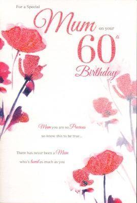 Mum 60th birthday birthday card birthday card httpamazon mum 60th birthday birthday card birthday card httpamazon bookmarktalkfo Choice Image