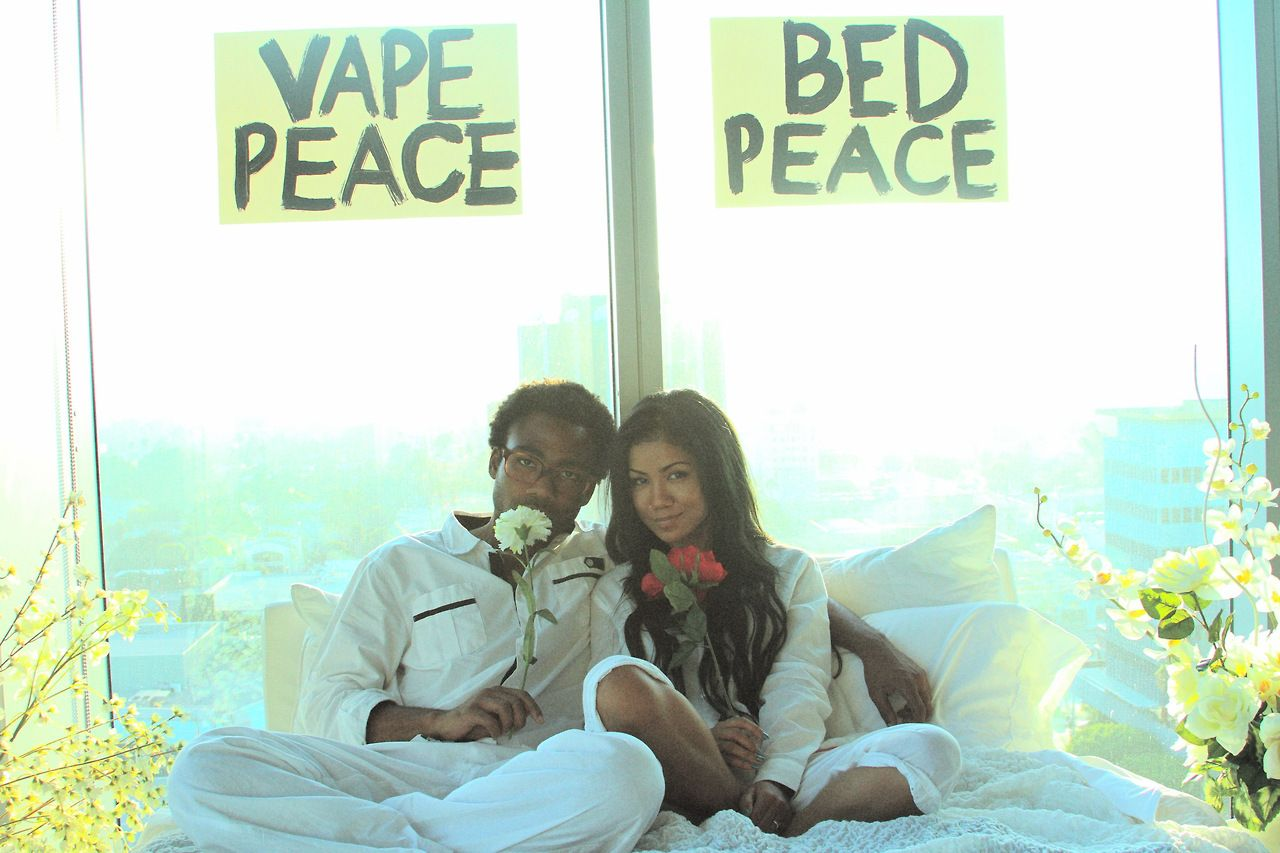 Jhene Aiko Releases Bed Peace Video Feat Childish Gambino