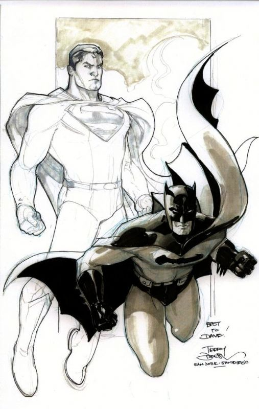 World's Finest by Terry Dodson