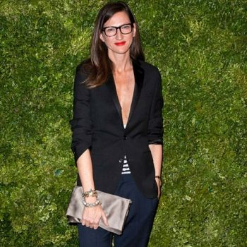 Jenna Lyons, sophisticated plunge