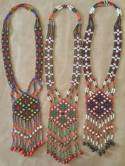 Beaded Chandelier Necklace