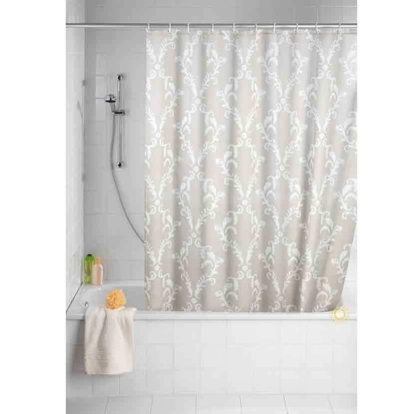 Badewanne Vorhang badewannenvorhang duschvorhang antischimmel 180x200 baroque vorhang