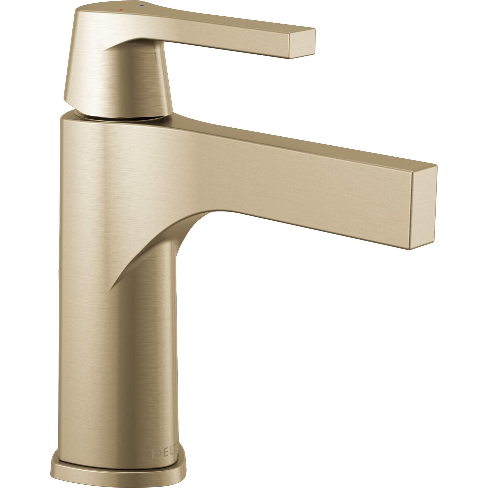 Delta Faucet 574 Mpu Dst Zura Single Hole Bathroom Faucet With