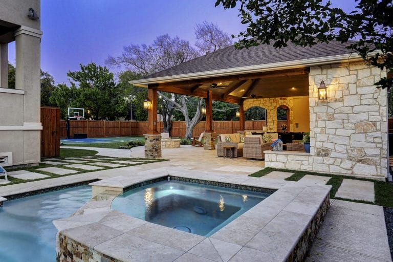 Expanded Outdoor Living Area In Houston Outdoor Living Areas Outdoor Living Outdoor Kitchen Plans