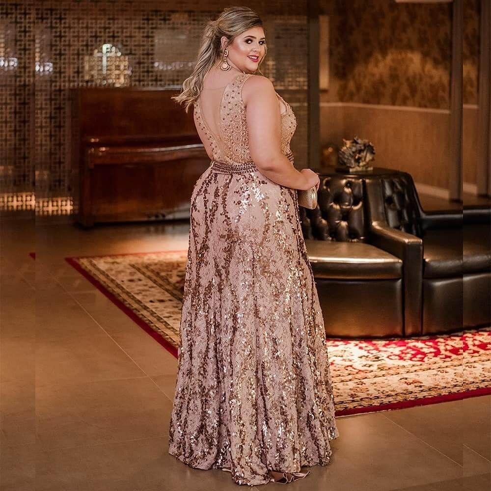 Vestido De Fiesta Largo Dorado Para Gorditas Vestidos De Fiesta Largos Vestidos De Fiesta Vestidos De Fiesta Xl