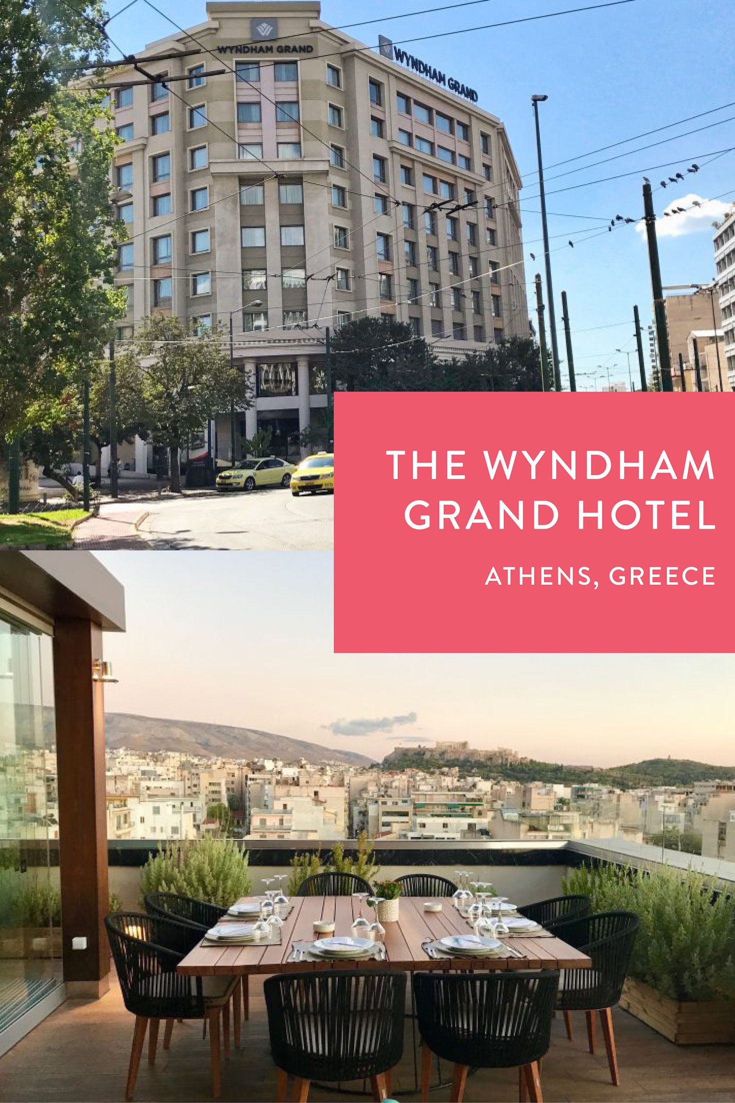 Finding Affordable Luxury At The Wyndham Grand Hotel In Athens Greece