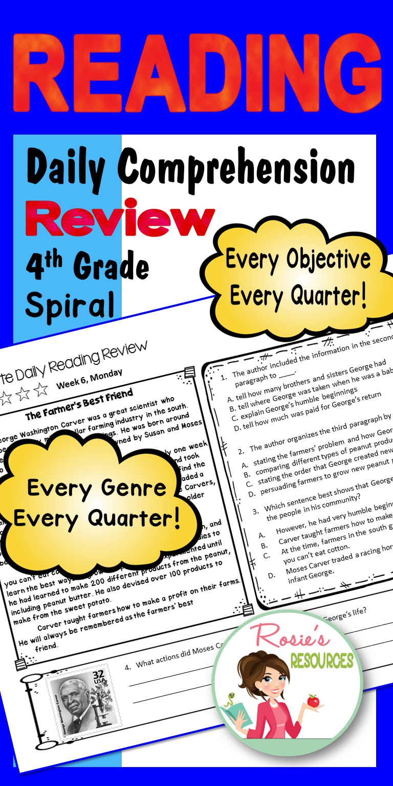 Daily Reading Comprehension Practice With 180 Reading Passages And Text Dependent Q Reading Comprehension Practice Reading Comprehension Comprehension Practice [ 1536 x 768 Pixel ]