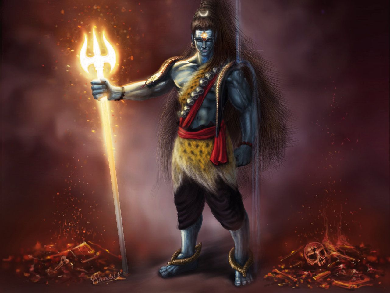 lord shiva animated wallpapers for mobile Archives - HD ...