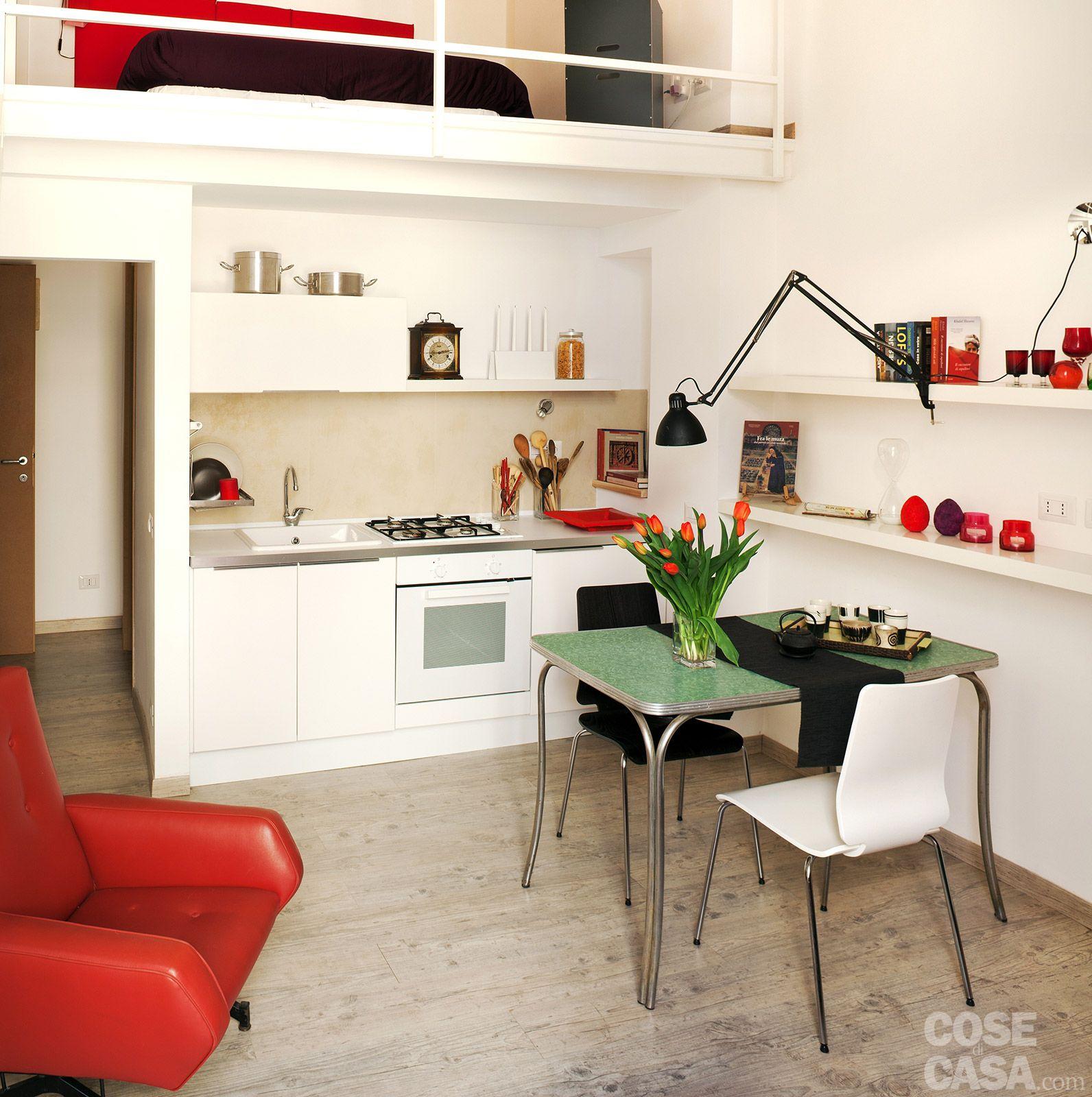 Idee per arredare sala e cucina insieme : idee arredamento casa ...