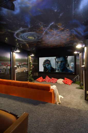 Set Up With High End Home Theater Speakers Home Theater Rooms At Home Movie Theater Home Cinemas